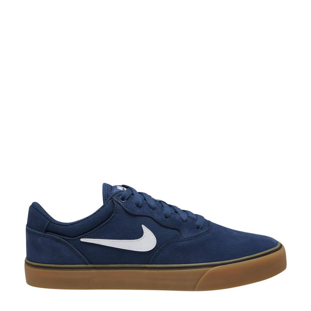 Nike SB Chron 2 sneakers donkerblauw/wit, Donkerblauw/wit