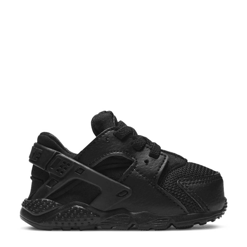 Nike Huarache Run  sneakers zwart, Zwart