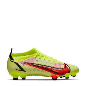 Mercurial Vapor 14 Pro FG voetbalschoenen geel/rood/zwart