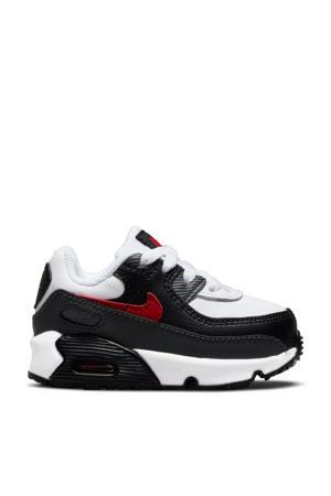 Air Max 90  sneakers wit/zwart/rood
