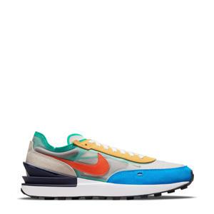 Waffle One  sneakers ecru/oranje/blauw