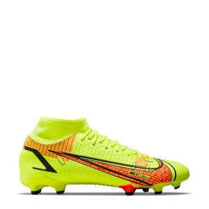 Superfly 8 Academy FG/MG voetbalschoenen felgeel/rood