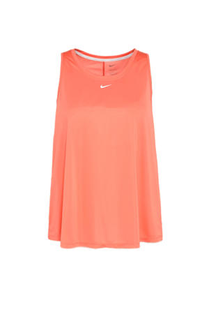 Plus Size sporttop rood