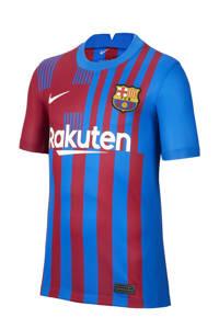 Nike Junior FC Barcelona voetbalshirt thuis blauw/rood, Blauw/rood
