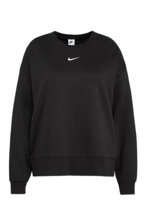Plus Size oversized sweater zwart