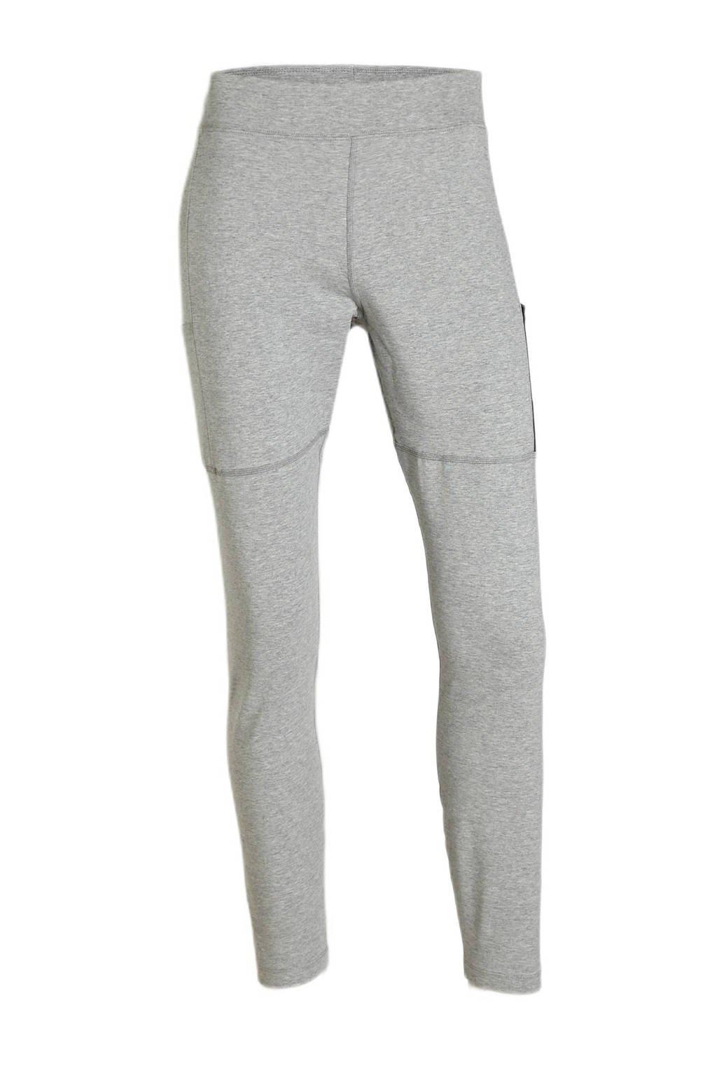 Nike sportlegging grijs/zwart, Grijs/zwart