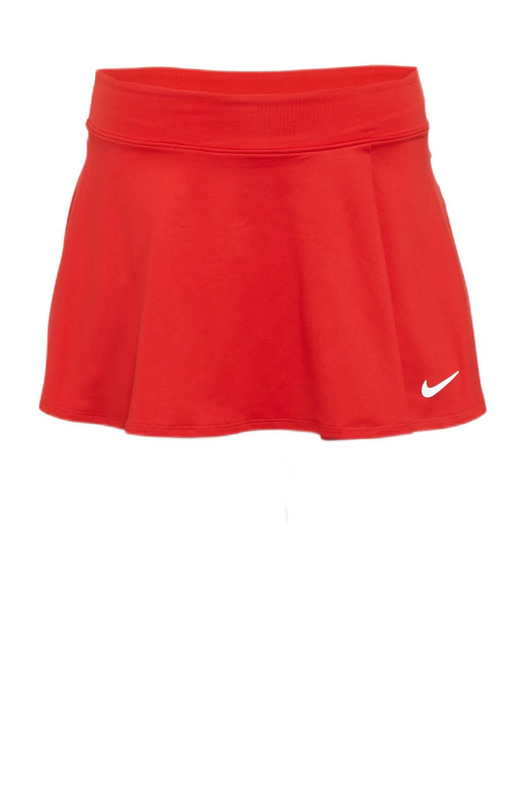 Nike sportrokje rood, Rood