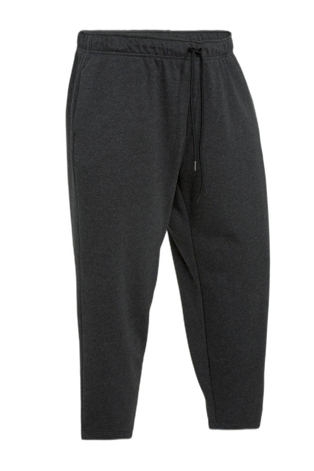 Nike regular fit broek met logo zwart, Zwart