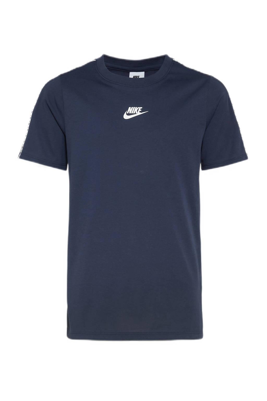 Nike T-shirt donkerblauw, Donkerblauw