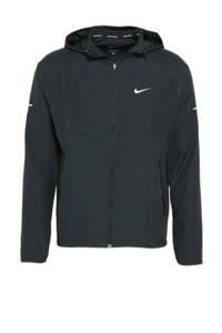 Nike hardloopjack zwart, Zwart