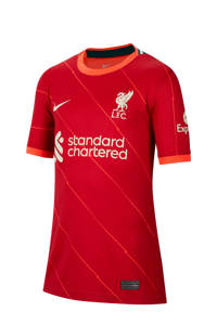 Nike Junior Liverpool FC voetbalshirt thuis rood, Rood