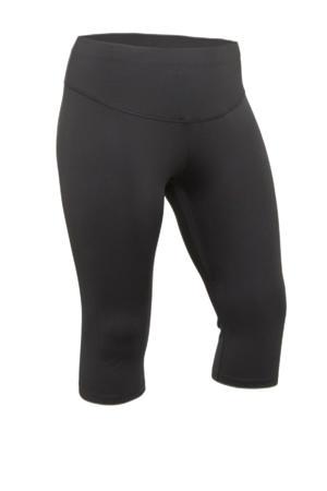 Plus Size sportcapri zwart