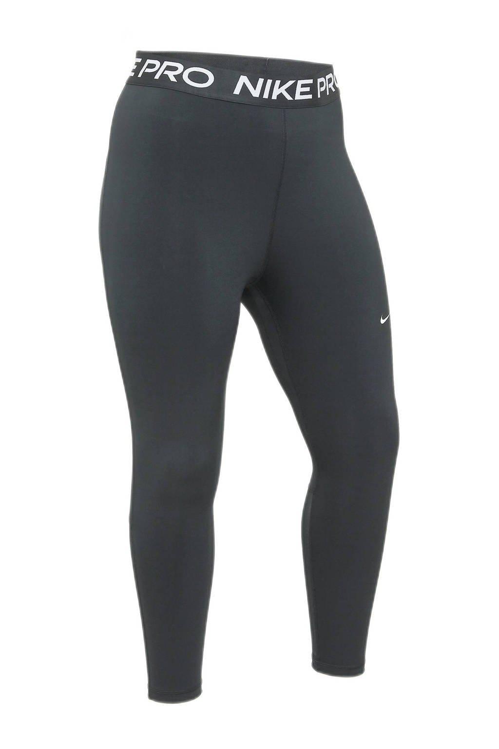 Nike Plus Size sportlegging zwart, Zwart