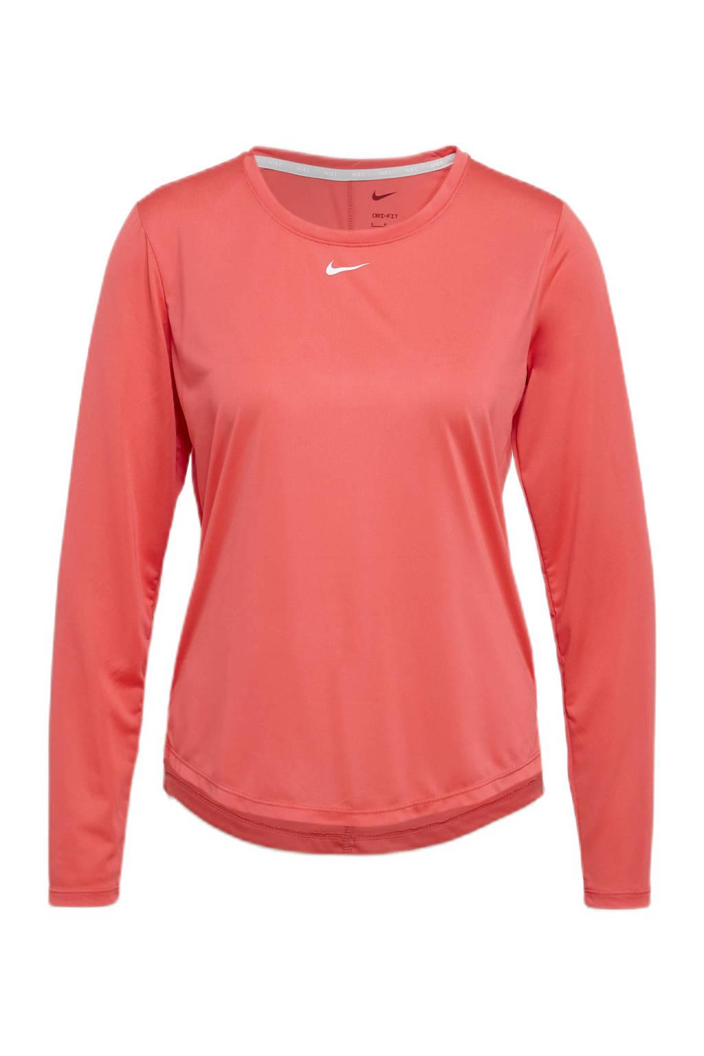 Nike sport T-shirt lichtrood, Lichtrood