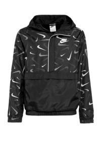 Nike anorak zwart, Zwart
