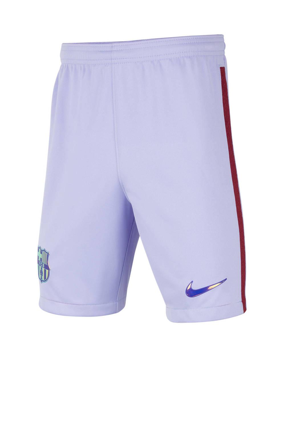 Nike Junior FC Barcelona voetbalshort, Paars