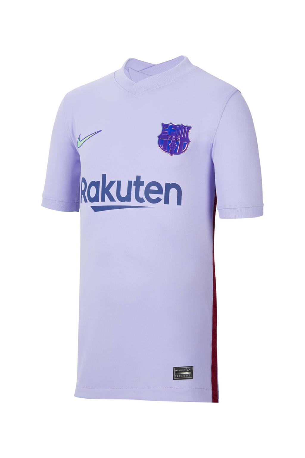 Nike Junior FC Barcelona voetbalshirt uit, Paars