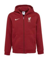Nike  Liverpool FC voetbalvest donkerrood, Donkerrood