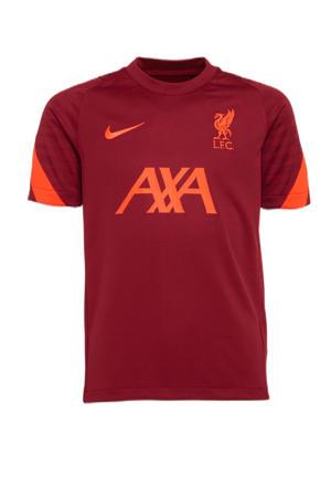 Junior Liverpool FC voetbalshirt donkerrood