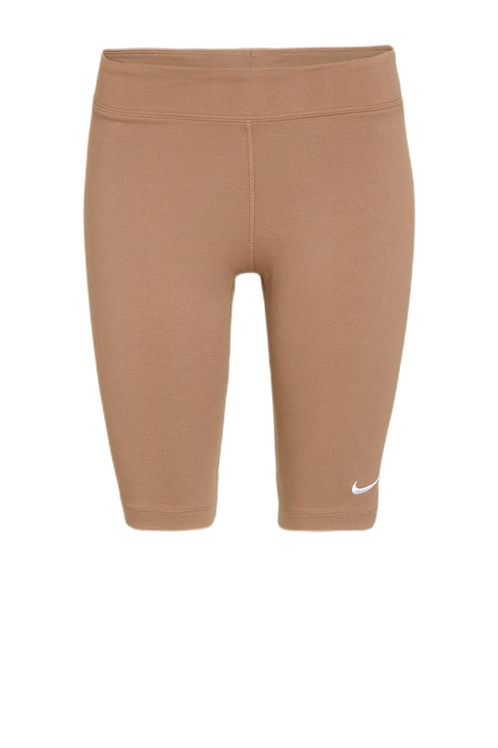 Nike cycling short bruin/wit, Bruin/wit
