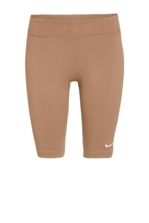 cycling short bruin/wit