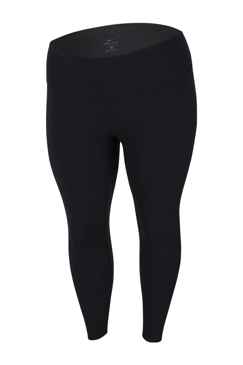 Nike Plus Size 7/8 sportlegging zwart, Zwart
