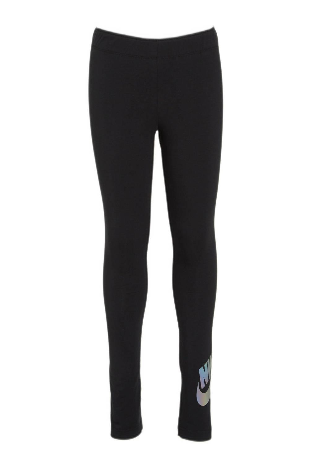 Nike legging zwart/grijs, Zwart/grijs