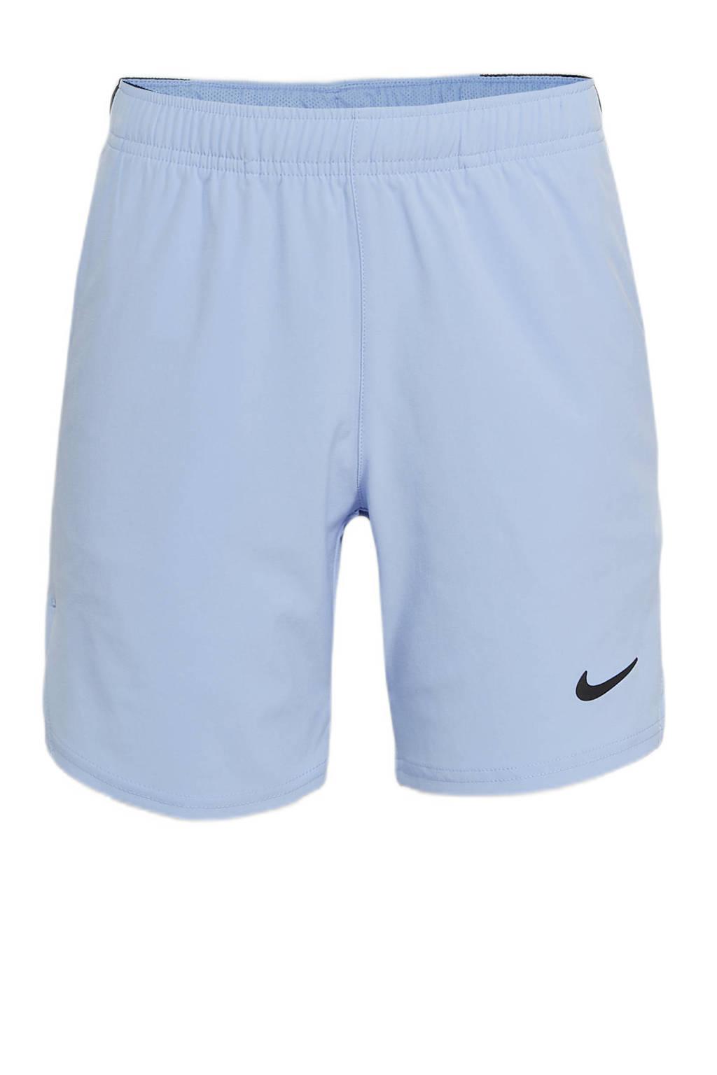 Nike   sportshort lichtbauw/zwart, Lichtblauw/zwart