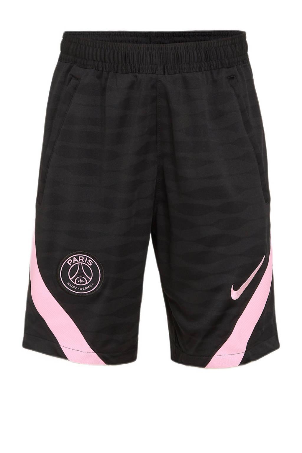 Nike Junior Paris Saint Germain Paris Saint Germain voetbalshort uit, Zwart
