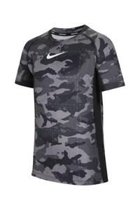 Nike T-shirt zwart/grijs, Zwart/grijs