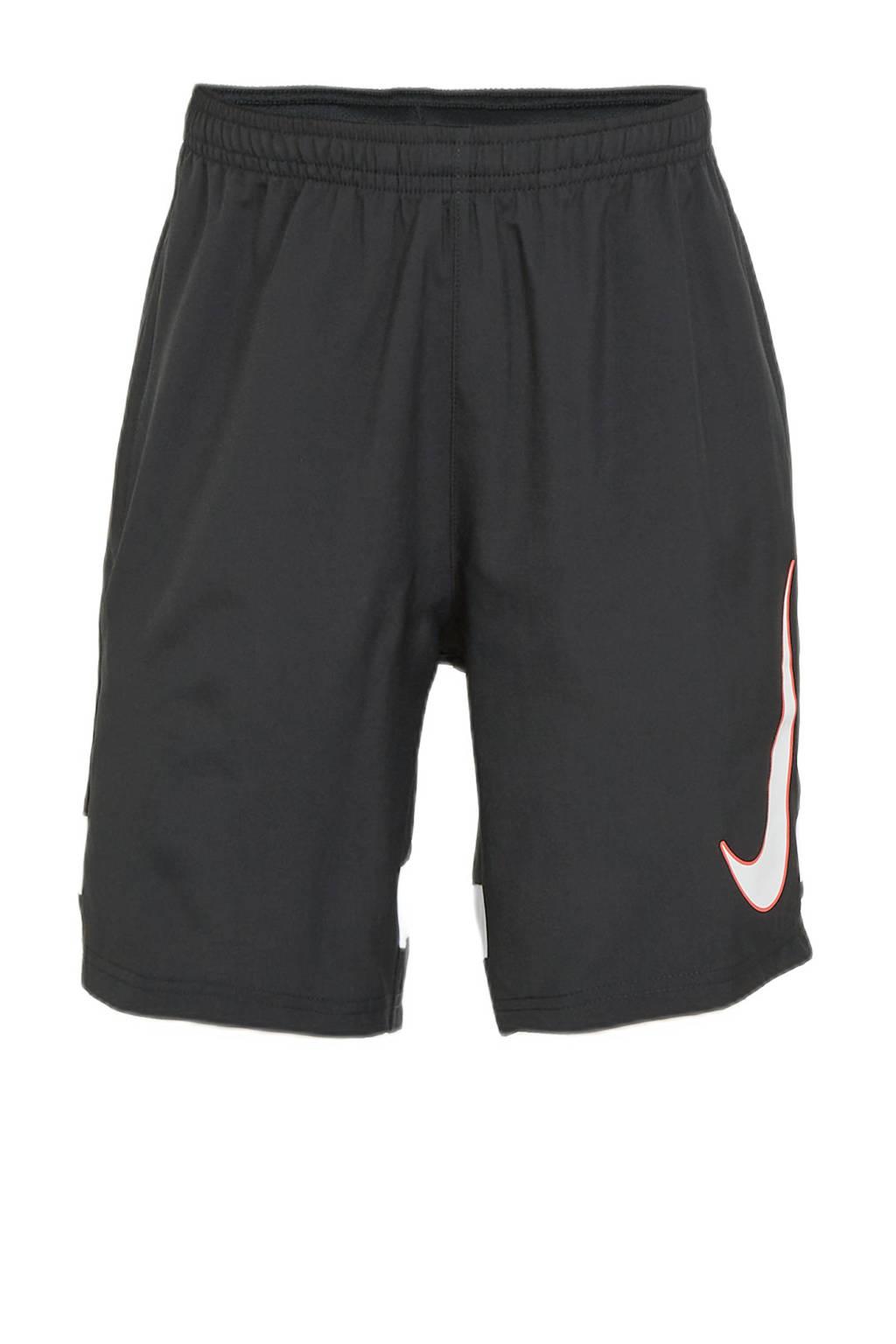 Nike   sportshort zwart/wit, Zwart