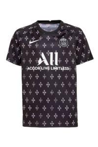 Nike Junior Paris Saint Germain voetbalshirt zwart/wit, Zwart/wit