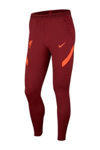 Nike Senior Liverpool FC voetbalbroek donkerrood/oranje, Donkerrood/oranje