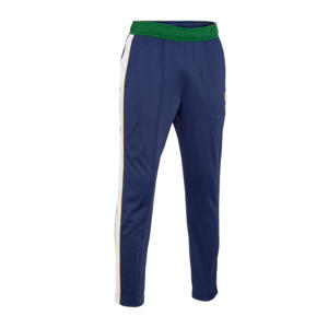 trainingsbroek blauw/groen/wit