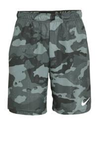 Nike   sportshort grijs/wit, Grijs/wit