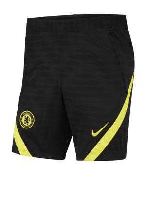 Senior Chelsea  FC voetbalbroek zwart/geel