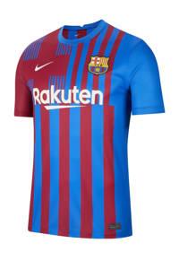 Nike Senior FC Barcelona voetbalshirt thuis, Blauw