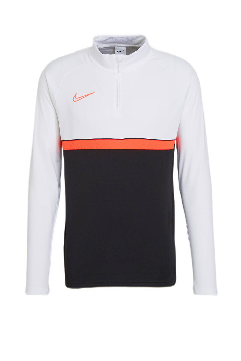 Nike   voetbalshirt zwart/wit/rood, Zwart/wit/rood