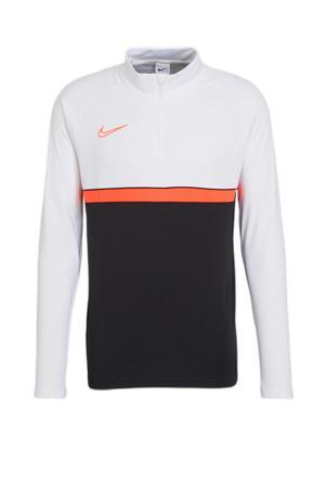 voetbalshirt zwart/wit/rood