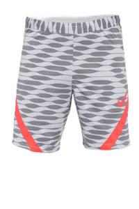 Nike Senior  sportshort lichtgrijs/oranje, Lichtgrijs/oranje