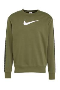 Nike   sweater olijfgroen, Olijfgroen