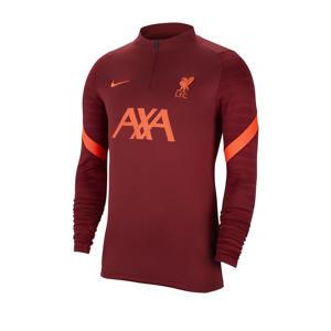 Senior Liverpool FC voetbalshirt donkerrood/oranje