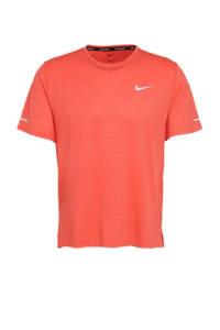 Nike   hardloopshirt koraalrood, Koraalrood