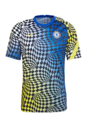Senior Chelsea  FC voetbalshirt blauw/geel