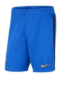 Nike Senior FC Barcelona voetbalshort blauw/zwart, Blauw/zwart