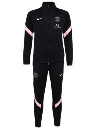 Junior Paris Saint Germain trainingspak zwart