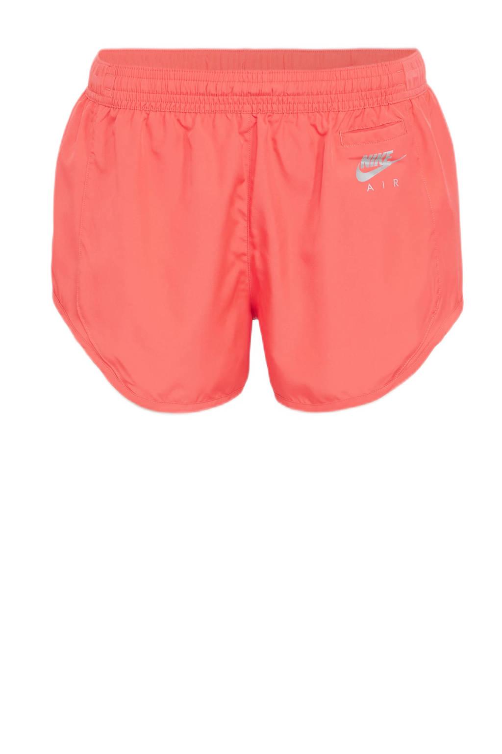 Nike hardloopshort koraalrood, Koraalrood