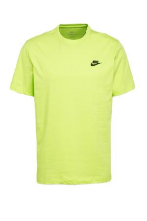 T-shirt neon geel