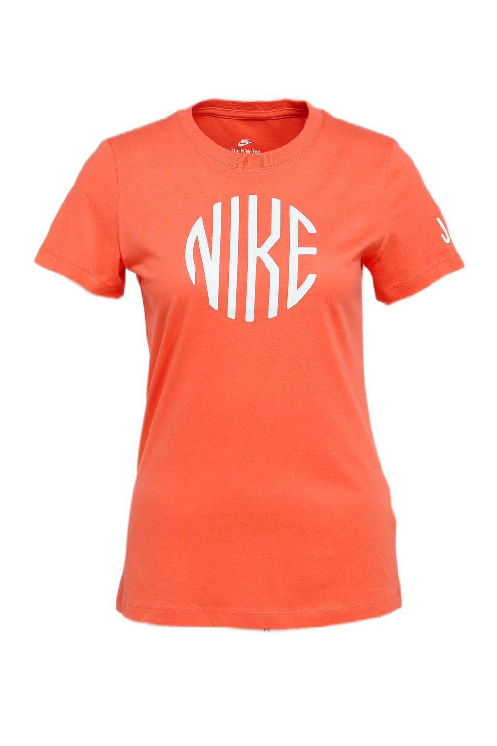 Nike T-shirt oranje, Oranje