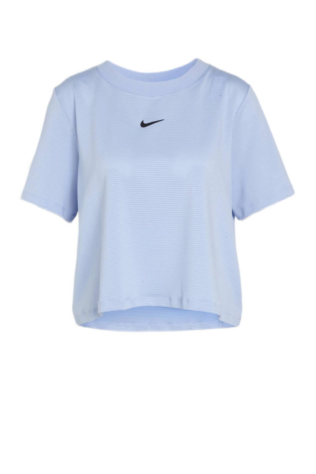 Nike sport T-shirt lichtblauw, Lichtblauw